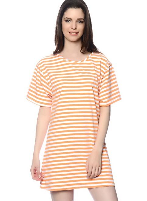 Glamorous Elbise Oranj